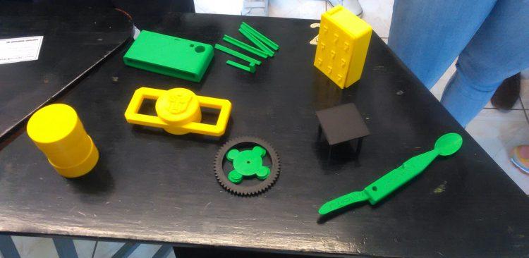Prototipos impresos en 3D