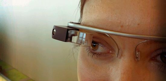 Lentes de realidad aumentada Google Glass