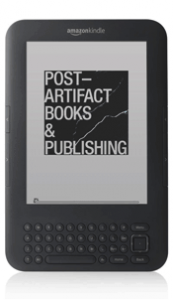 Post-Artefact Books and Publishing